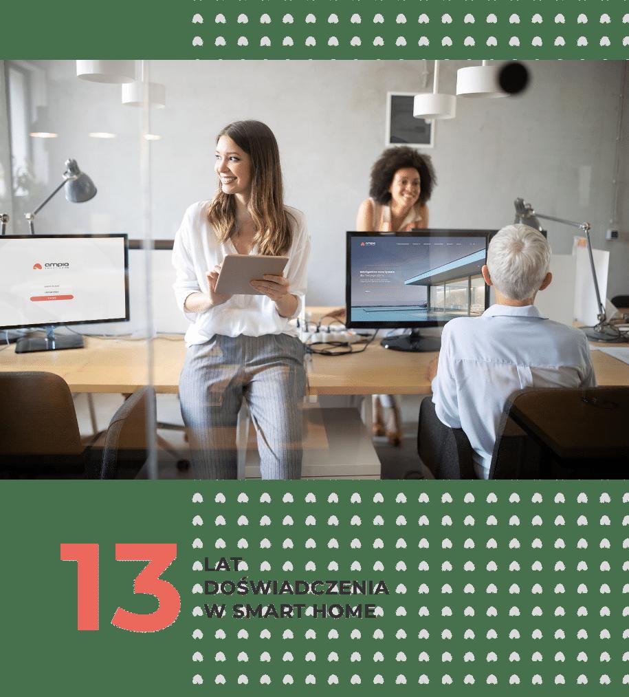 biuro ampio zespół workspace
